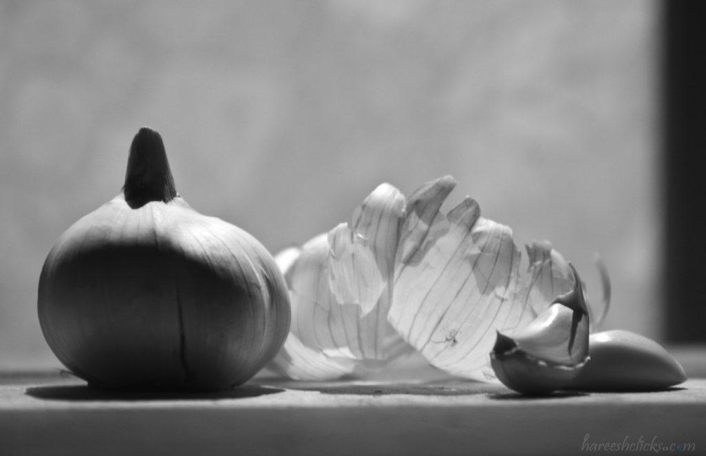 Black & white Garlic