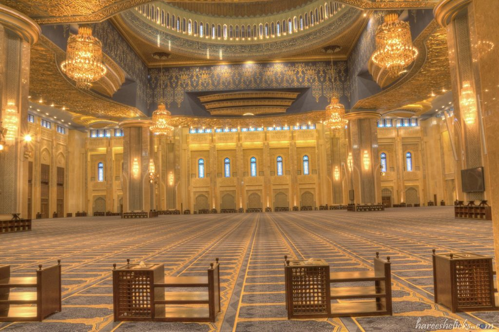 Grand Mosque prayer hall