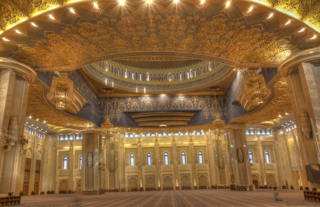 Grand Mosque prayer hall Kuwait