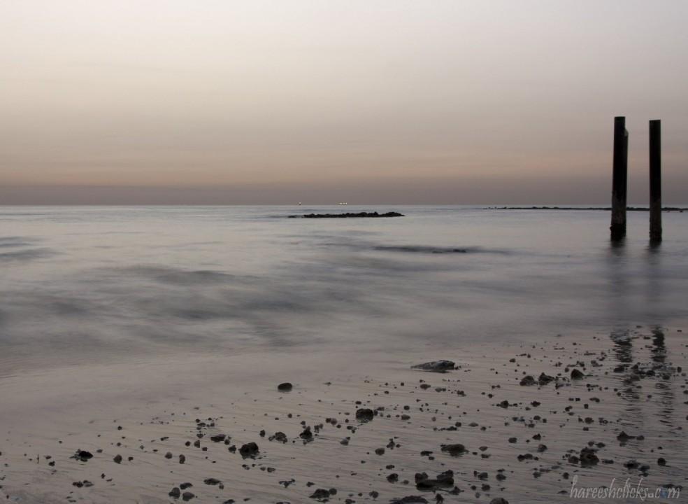 beach, sunrise, Kuwait, Fahaheel
