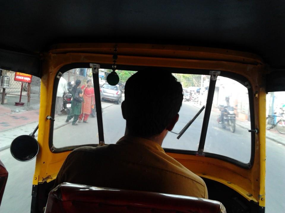 Auto Rickshaw ride