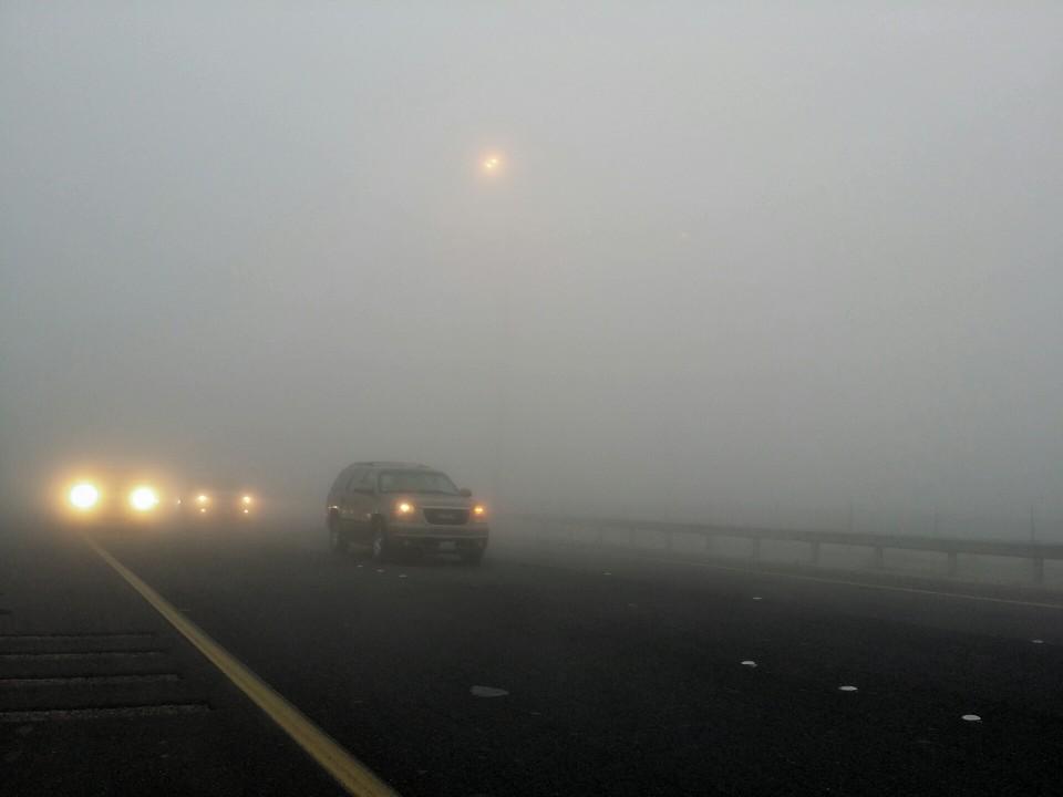 Kuwait fog 2015