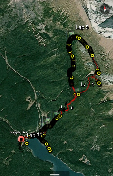 Distance 7.78miles, time- 4:01hrs, Elevation gain- 1808 feet